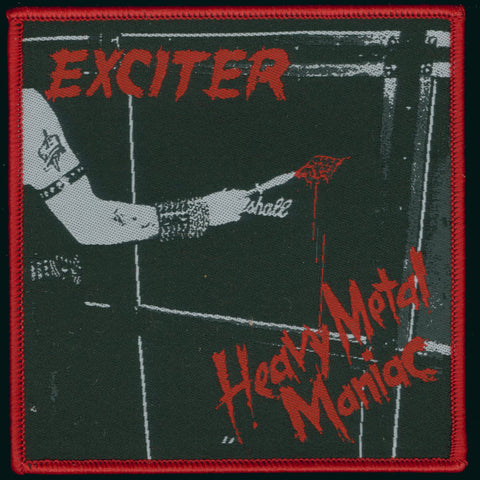 "Exciter ""Heavy Metal Maniac"" Patch"