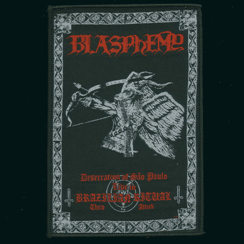 "Blasphemy ""Brazilian Ritual"" Patch"