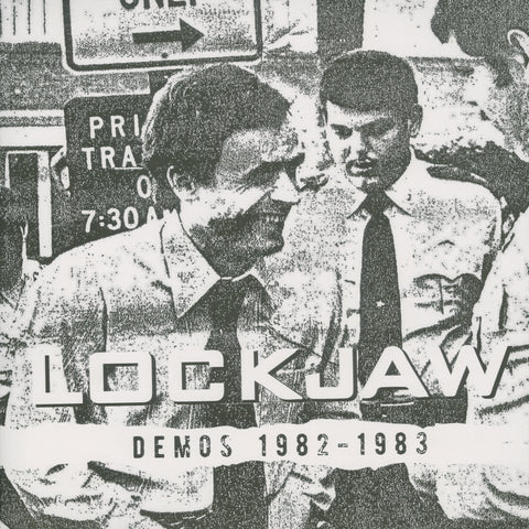 "Lockjaw ""Demos 1982-2983"" LP (Portland Punk!)"