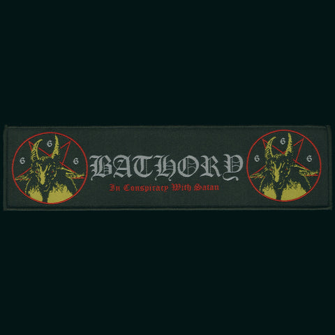 "Bathory ""Bathory"" 9"" Strip Patch"