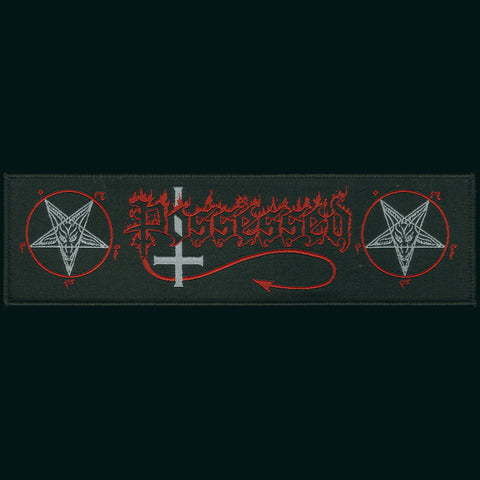 "Possessed ""Seven Churches"" 8"" Strip Patch"