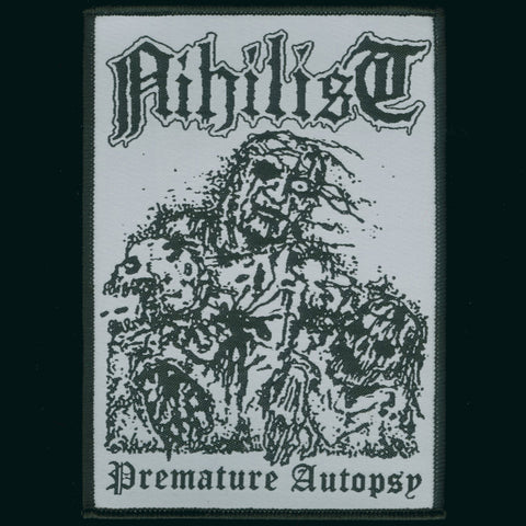 "Nihilist ""Premature Autopsy"" Patch"
