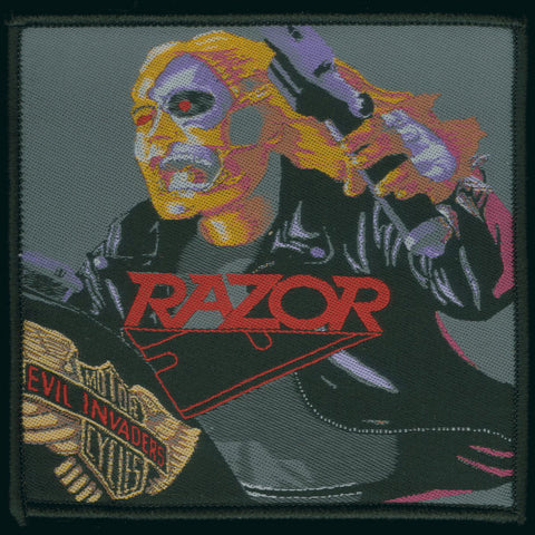 "Razor ""Evil Invaders"" Patch"
