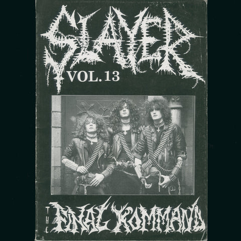 Slayer Magazine #13 1999