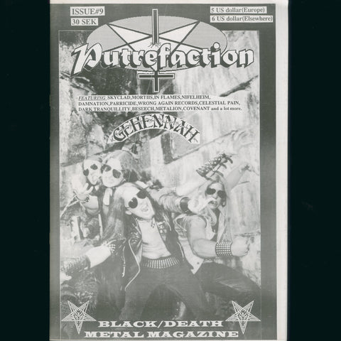 Putrefaction Zine #9 1996