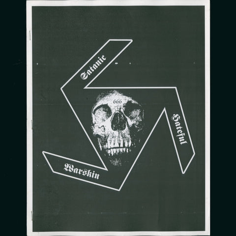 "Satanic Skinhead ""Anti-Christ Ordered Extermination"" Zine"