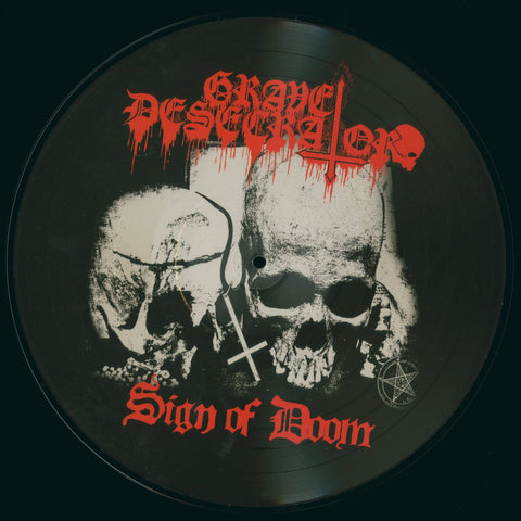 "Grave Desecrator ""Sign of Doom"" Picture LP"