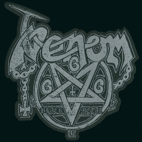 "Venom ""Logo Pentagram"" Shaped Patch"