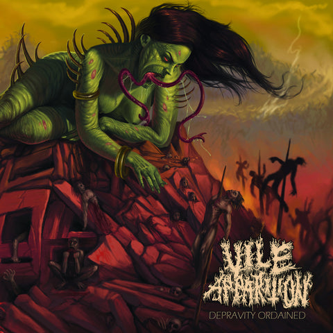 "Vile Apparition ""Depravity Ordained"" LP"