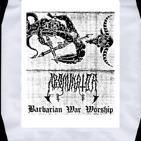 "Abominator ""Barbarian War Worship"" Silver Vinyl Test Press DLP"
