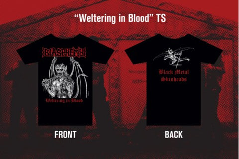 "Blasphemy ""Weltering in Blood"" TS L"