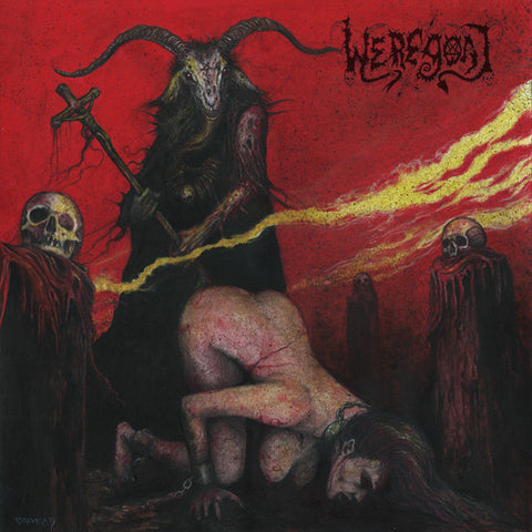 "Weregoat ""Slave Bitch of the Black Ram Master"" LP"