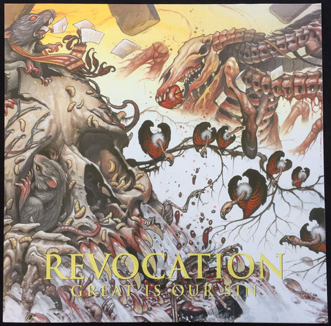 "Revocation ""Great Is Our Sin"" LP"