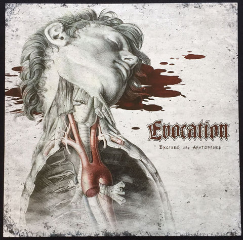 "Evocation ""Excised and Anatomised"" LP"