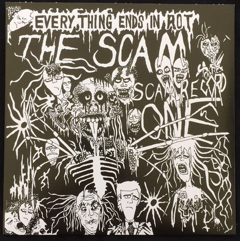 "The Scam ""Everything Ends in Riot"" EP 7''"