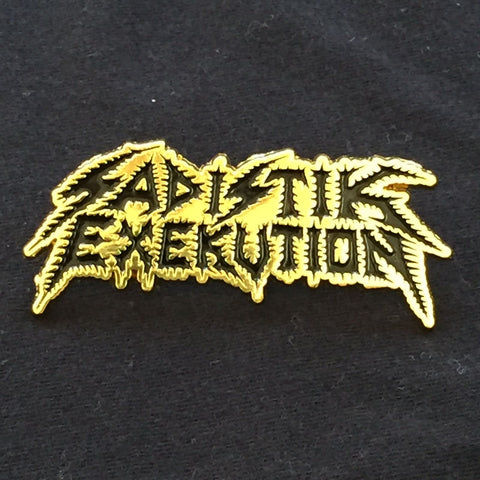 "Sadistik Exekution ""Logo"" Die Cast Metal Pin"