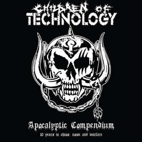 "Children of Technology ""Apocalyptic Compendium"" White Vinyl Double LP"
