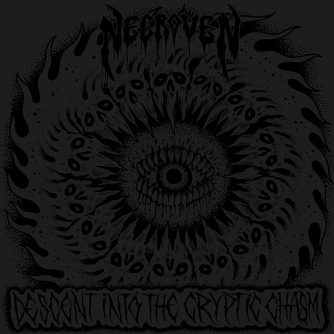 "Necroven ""Descent Into the Cryptic Chasm"" 7"""