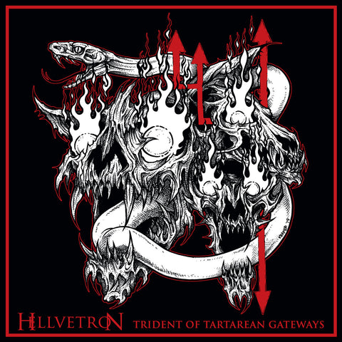 "Hellvetron ""Trident of Tartarean Gateways"" Double LP"
