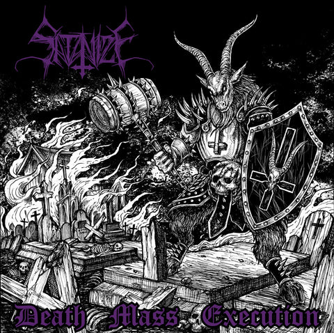 "SATANIZE ""Death Mass Execution"" 7"""