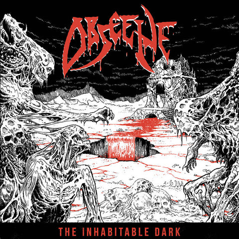 "Obscene ""The Inhabitable Dark"" LP"