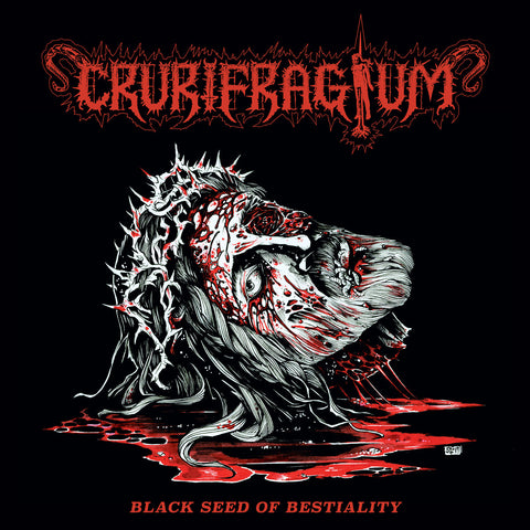 "CRURIFRAGIUM ""Black Seed of Bestiality"" LP"