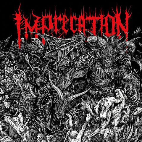 "Imprecation ""Damnatio Ad Bestias"" LP"