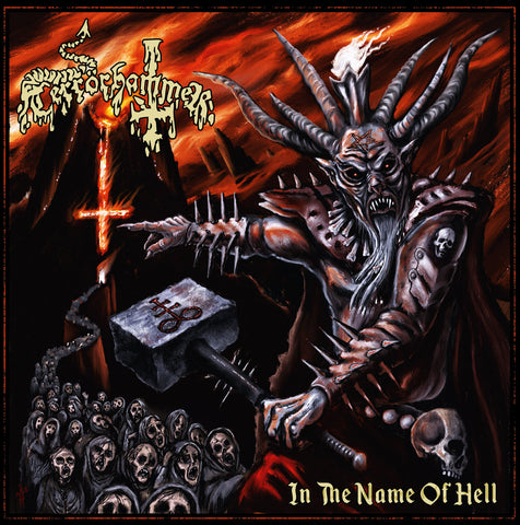 "Terrörhammer ""In the Name of Hell"" CD"