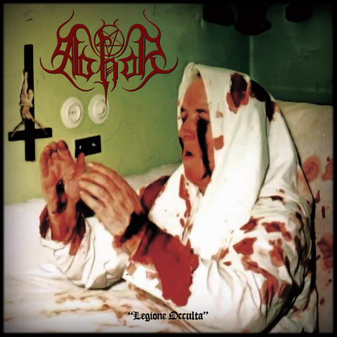 "Abhor / Abysmal Grief ""Legione Occulta/Ministerium Diaboli"" Split LP in Cloth Sleeve"