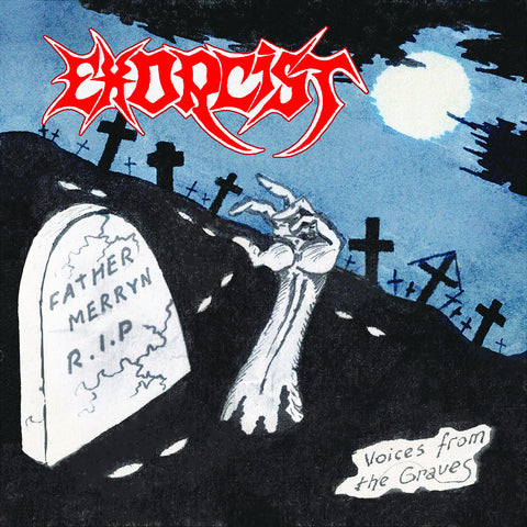 "Exorcist ""Voices From the Graves"" LP"