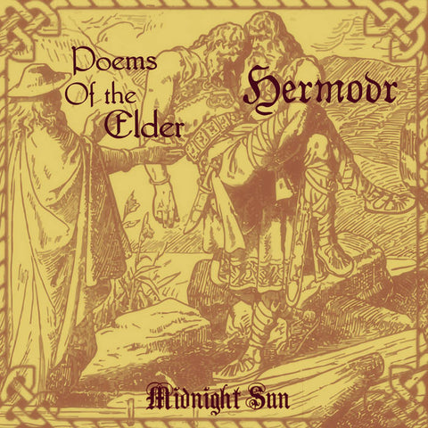 "Hermóðr / Poems of the Elder ""Midnight Sun"" Split Digipak CD"