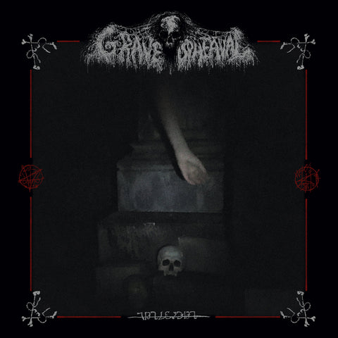 "Grave Upheaval ""Untitled 2nd Album + Live"" Digibook 2CD"