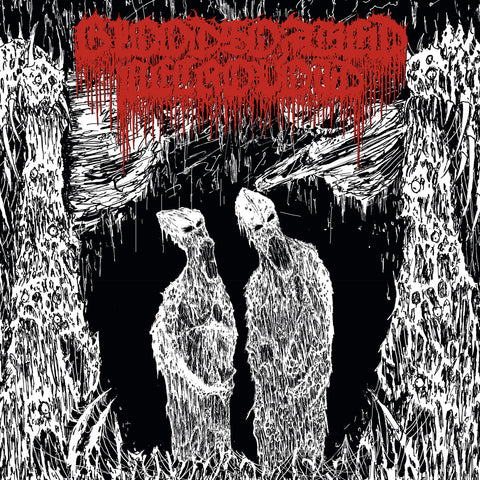 "Bloodsoaked Necrovoid ""The Apocryphal Paths..."" Clear Vinyl LP"