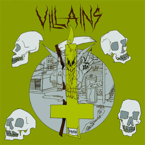 "Villains ""Road to Ruin"" LP"
