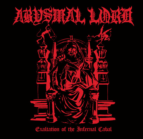 "Abysmal Lord ""Exaltation Of The Infernal Cabal"" LP"