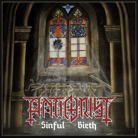 "Antichrist ""Sinful Birth"" CD"