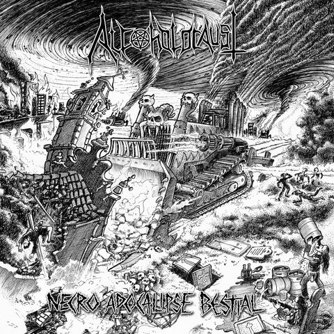 "Alcoholocaust ""Necro Apocalipse Bestial"" CD"