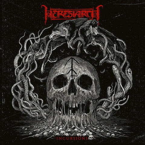 "Heresiarch ""Incursions"" CD"