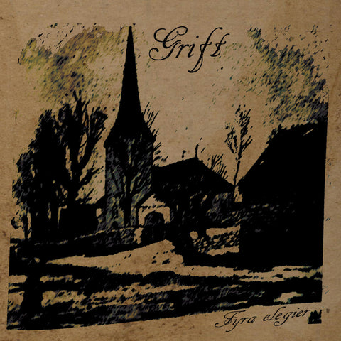 "Grift ""Fyra Elegier"" LP"
