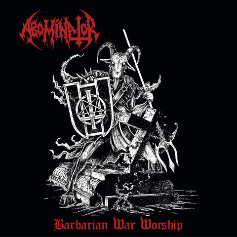 "Abominator ""Barbarian War Worship"" Die Hard Double LP"
