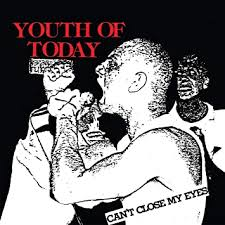 "Youth of Today ""Can't Close My Eyes"" Colored Vinyl LP"