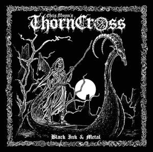 "Chris Moyen's Thorn Cross ""Black Ink & Metal"" Book"