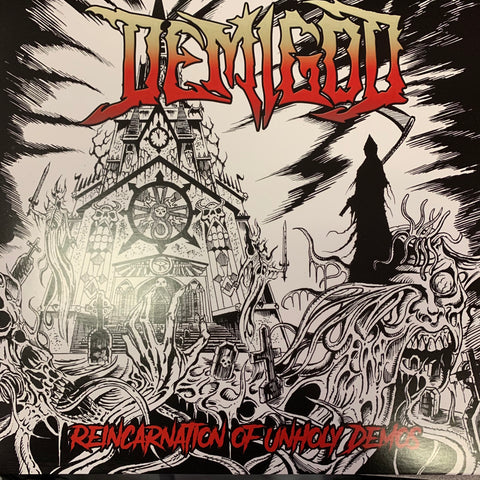 "Demigod ""Reincarnation of Unholy Demos"" Double LP"