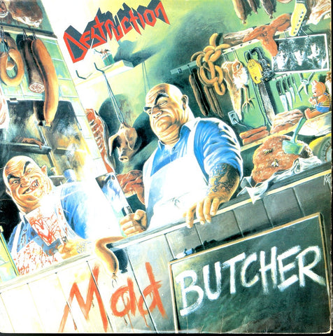 "Destruction ""Mad Butcher"" MLP (Brazil Press)"