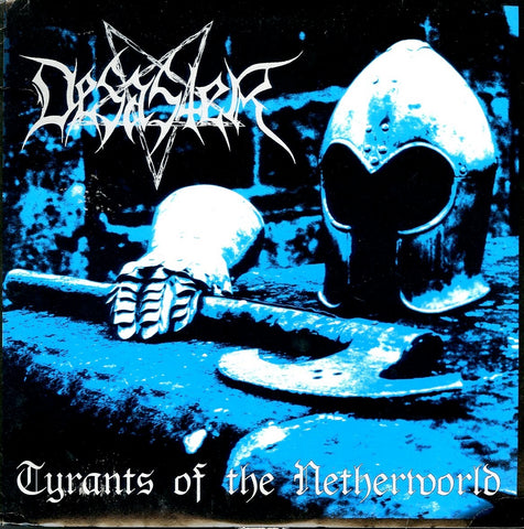 "Desaster ""Tyrants Of The Netherworld"" White Vinyl LP (Lim to 100)"
