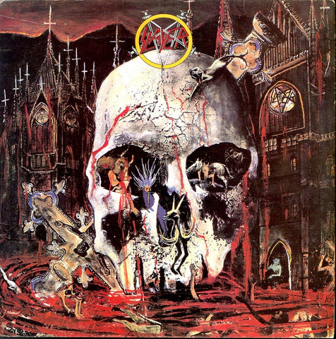 "Slayer ""South Of Heaven"" LP (Brazil Press 1988)"