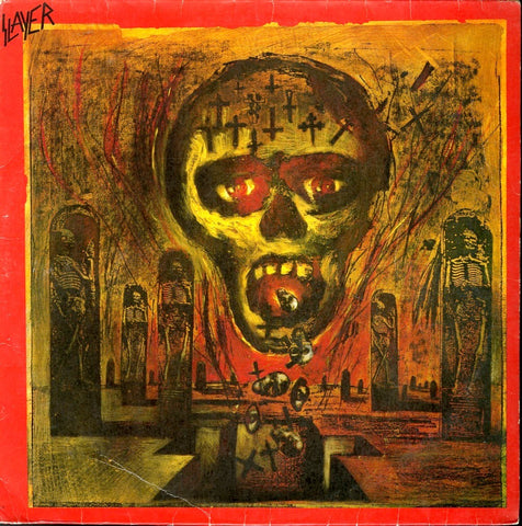 "Slayer ""Seasons In The Abyss"" LP (Brazil Pressing 1990)"