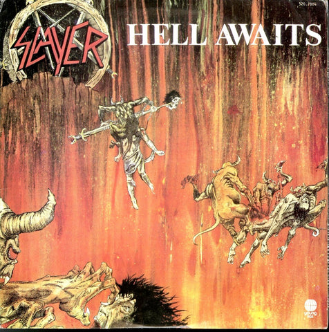 "Slayer ""Hell Awaits"" LP (Brazil Press 1987)"