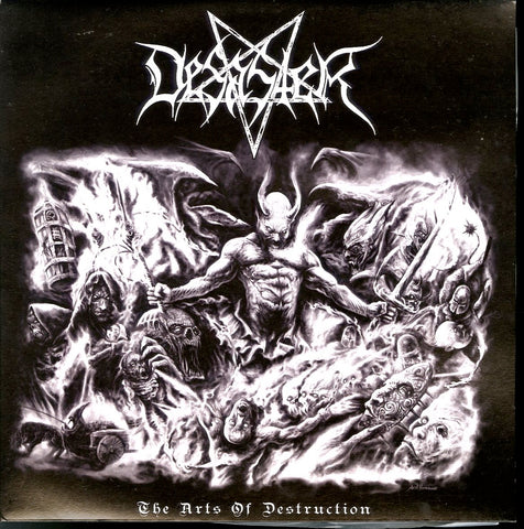 "Desaster ""The Arts Of Destruction"" Splatter Vinyl LP"