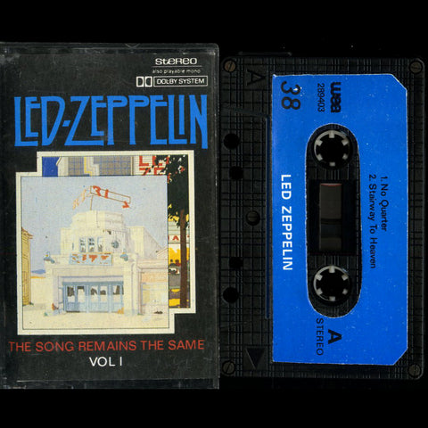 "Led Zeppelin ""The Song Remains the Same Vol I"" MC"